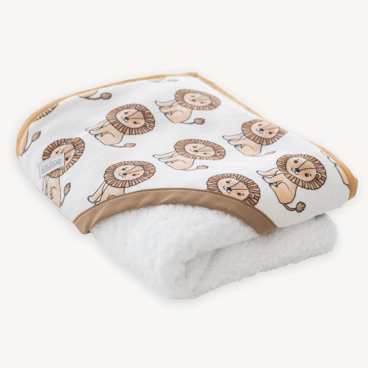 capa de baño de leones