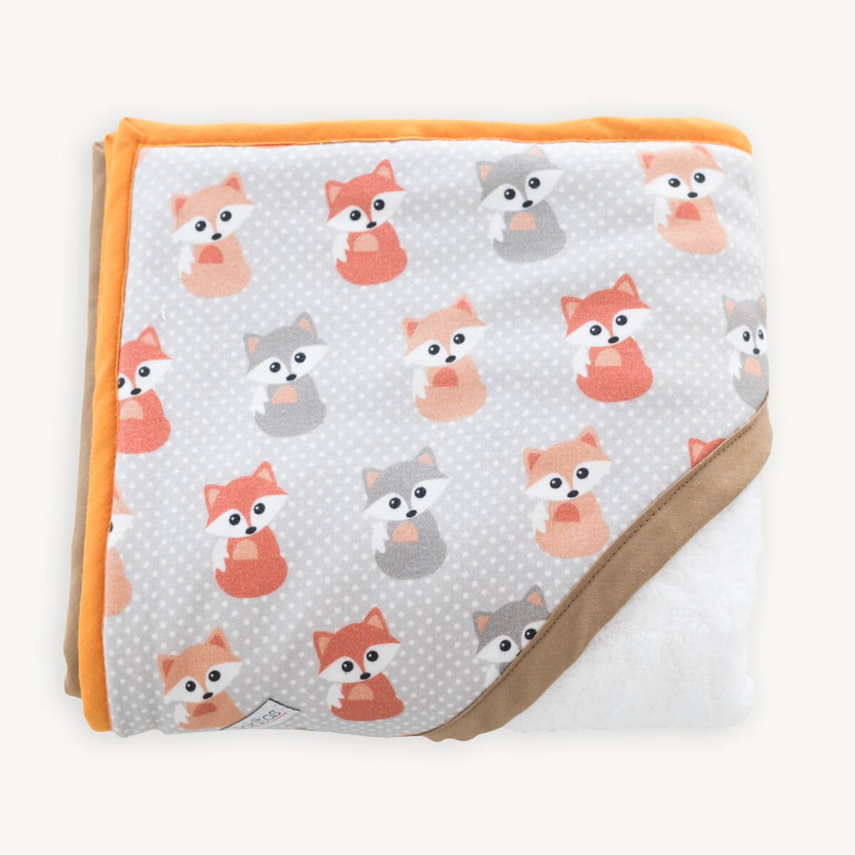 capa de baño de zorros