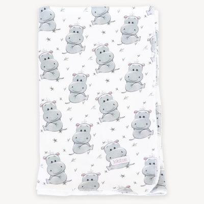 manta fina hipopótamos