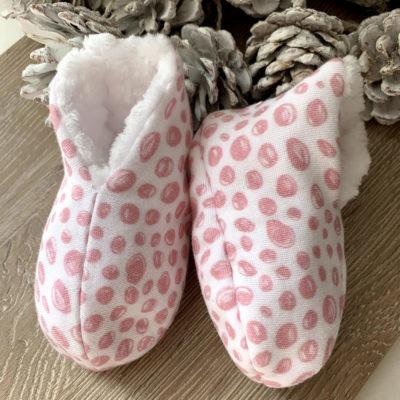 patucos rosa lateral